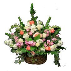 Multicolored Basket Arrangement